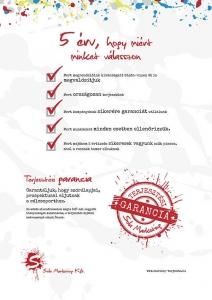 szórólap terjesztés garancia- sola marketing kft